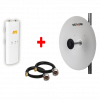 HS-MM-LINK-6 PTP Mimosa 500 Mbit Link Seti 5531 Anten + C5c + LMR200