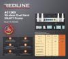 RL-WR4400 REDLINE RL-WR4400 DUAL BAND AC 1.2GBIT WIFI ROUTER 4 ANTEN