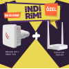 BD-RBLDF-5nD-EWR-301 Mikrotik RBLDF-5nD-Everest EWR-301 Kablosuz Router Bundle Ka