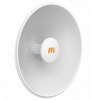 Mimosa-N5-X25 N5-X25 4.9-6.4 GHz Modular Twist-on Antenna, 400mm Dish for C5x only, 25 dBi gain