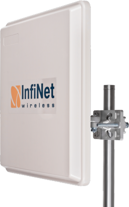 InfiLINK-2x2-Pro-R5000-Omx InfiLINK-2x2-Pro-R5000-Omx 300 Mbps 100 Km'ye Kadar Kablosuz Aktarıcı