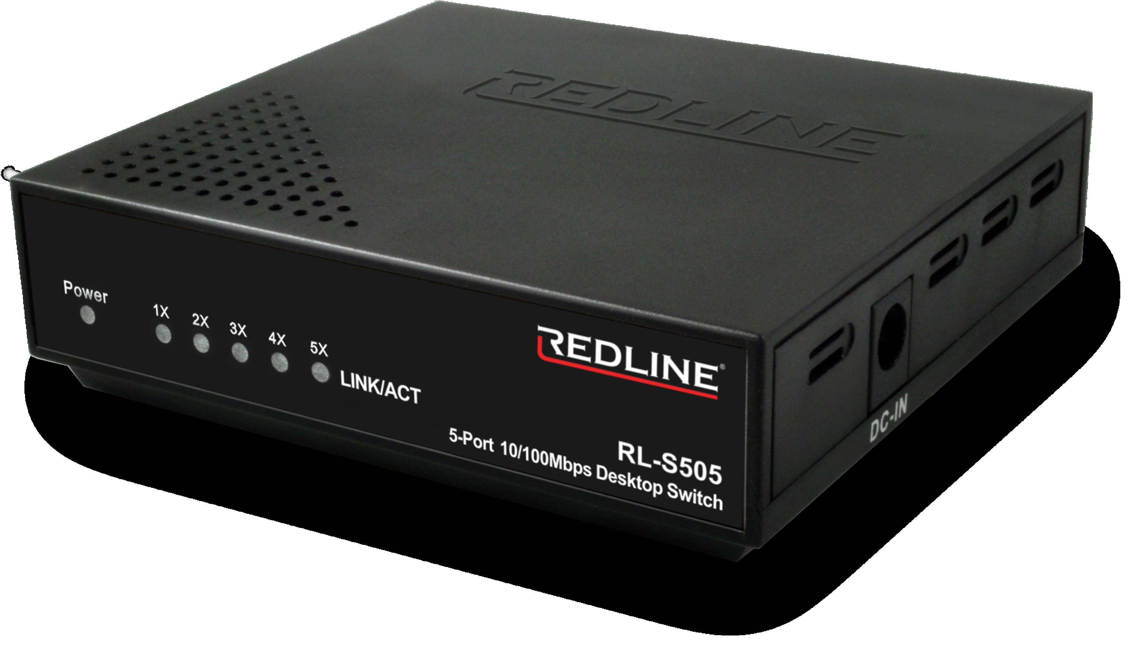 RL-S505 REDLINE RL-S505 5 PORT 10/100MBIT SWITCH