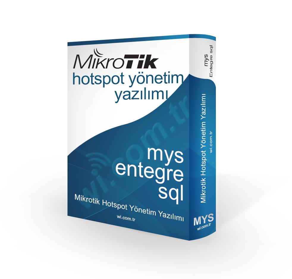 MYS-ENTEGRE MYS MIKROTIK YONETIM SISTEMI - MSSQL-TXT ENTEGRE