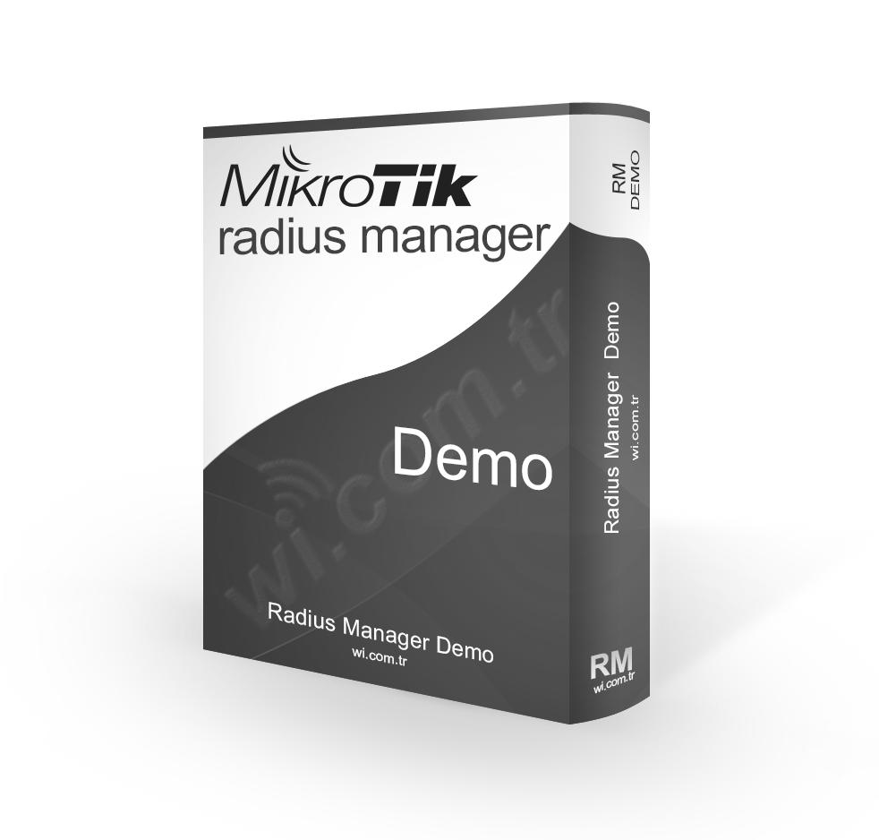 RadiusManager-Demo Radius Manager - 30 Gün Demo