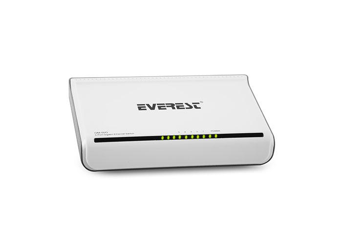Everest-GM-50G Everest GM-50G 5 Port 1000Mbps Gigabit Ethernet Switch Hub