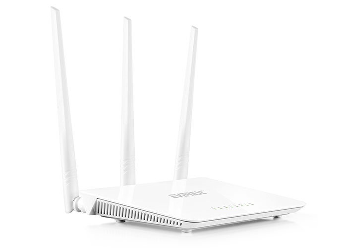 EVEREST-EWR-F303 Everest EWR-303 Kablosuz-N WPS + WISP+WDS 300 Mbps Repeater+Access Point+Bridge Kablosuz Router