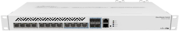 CRS332-32S+RM Cloud Router Switch 332-32S+RM