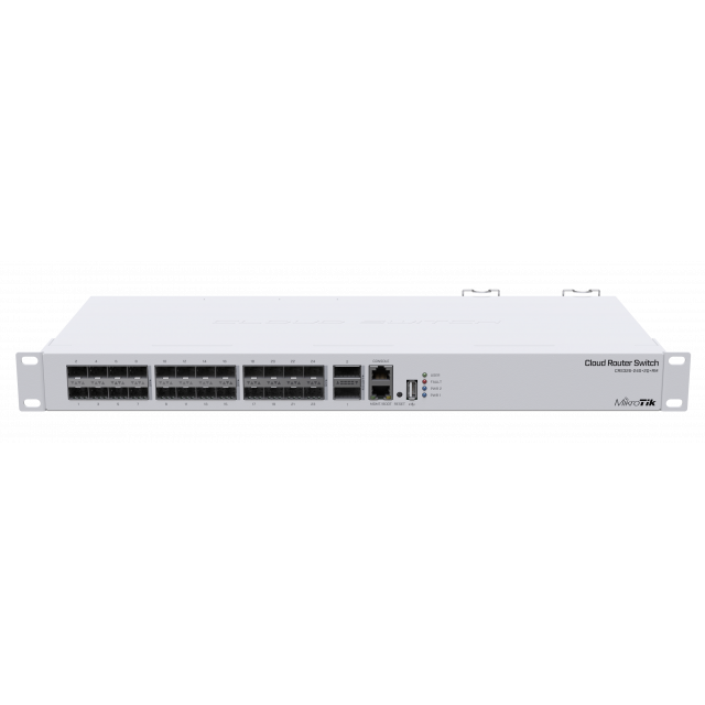 CRS326-24SPlus2QplusRM Cloud Router Switch 326-24S+2Q+RM 24xSFP + 10g, 2xQSFP+ 40G , L5 Rack Mount