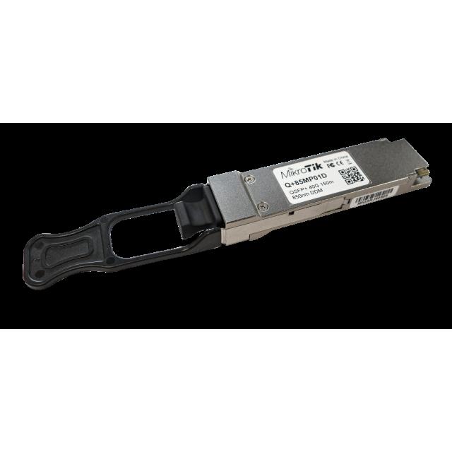 Q-85MP01D Mikrotik Q-85MP01D QSFP+ module 40Gbit Multi Mode(MM) 150m 850nm