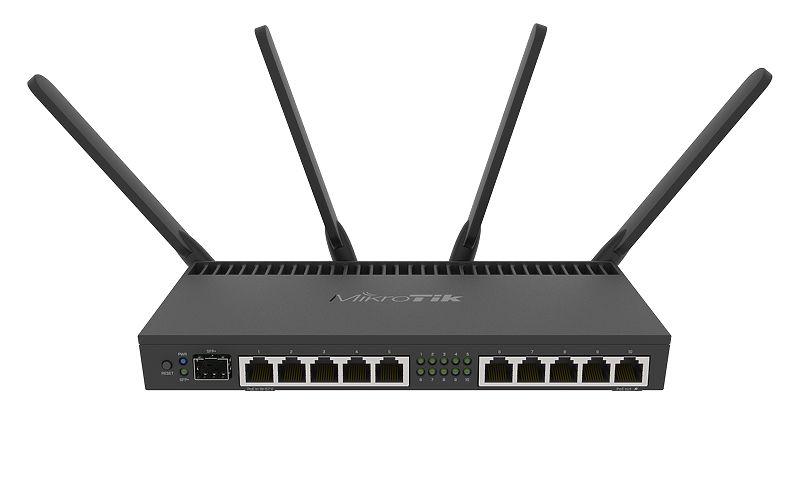 RB4011iGSPlus5HacQ2HnD-IN Mikrotik Mikrotik RB4011iGS+5HacQ2HnD-IN 10xGbit LAN,1xSFP+ , L5, LCD, Rack Mount Router / Firewall / Hotspot