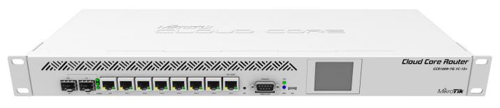 CCR1009-7G-1C-1SPLUS Cloud Core Router 1009-7G-1C-1S+ 1x Combo Port ,7xGbit LAN ,L6 Firewall / Router