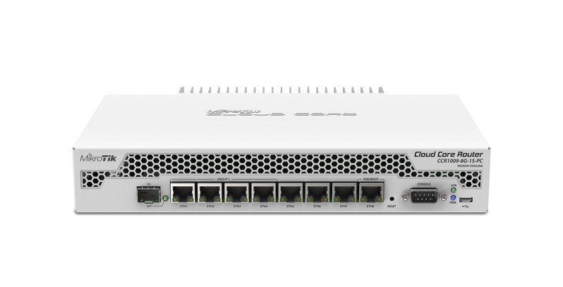 CCR1009-8G-1S-PC CCR1009-8G-1S-PC Cloud Core Router