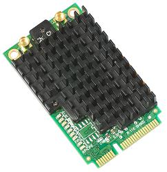 R11e-5HacD R11e-5HacD 802.11a/c High Power miniPCI-e card with MMCX connectors