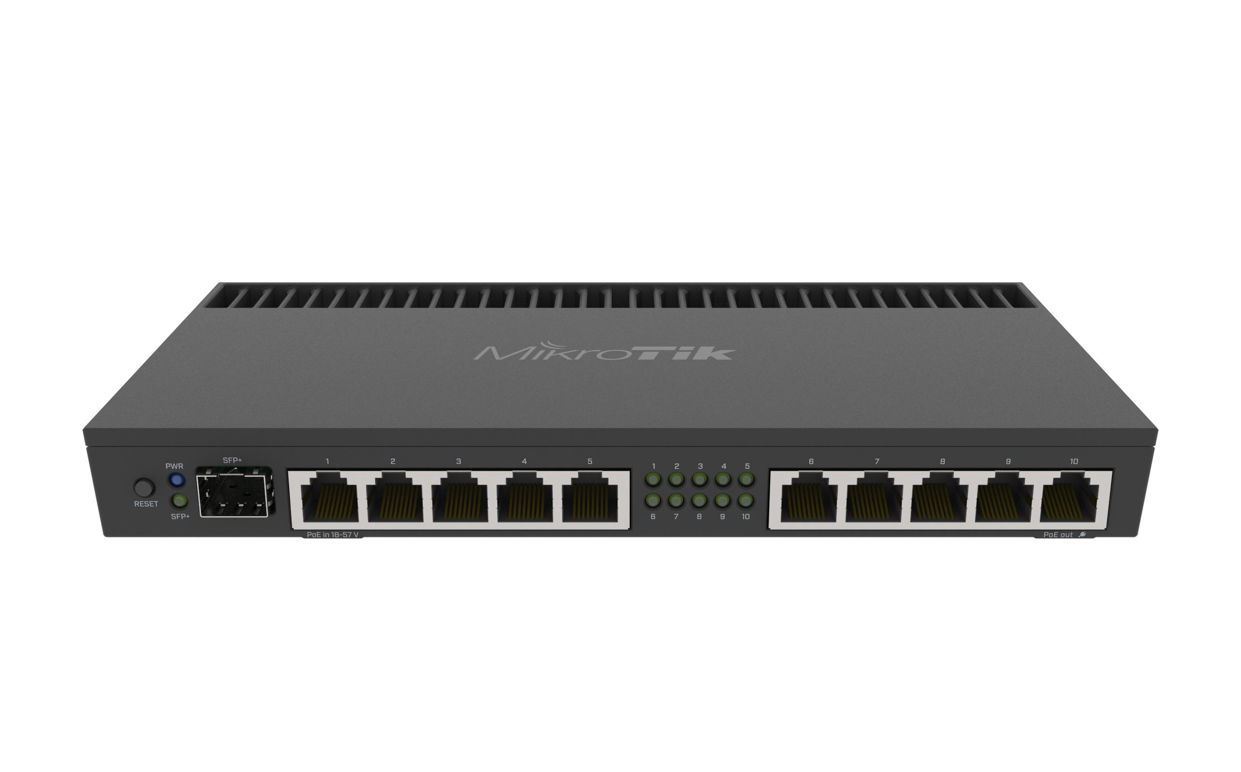 RB4011iGSPlusRM Mikrotik Mikrotik RB4011iGS+RM 10xGbit LAN,1xSFP+ , L5, LCD, 1U, Rack Mount Router / Firewall / Hotspot