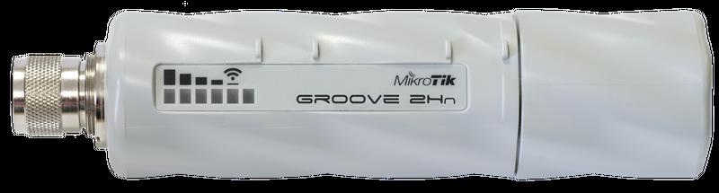 RBGroove-52HPn Mikrotik RBGroove-52HPn, 2.4Ghz-5GHz DUAL Band 802.11a/b/g/n, PTP / PTMP L3