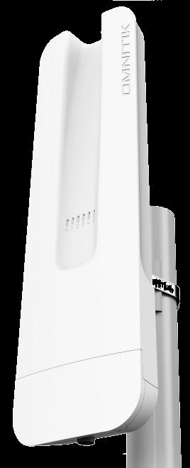 RBOmniTikPG-5HacD Mikrotik Omnitik 5 AC POE 2x7.5dBi Bütünleşik 5 Ghz Anten, 802.11an/ac PTP/PTMP, L4