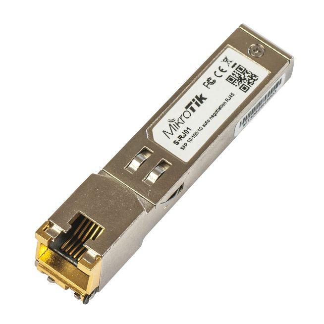S-RJ01 Mikrotik RJ45 SFP 10/100/1000M SFP Portu Bakıra Dönüştürme Modülü