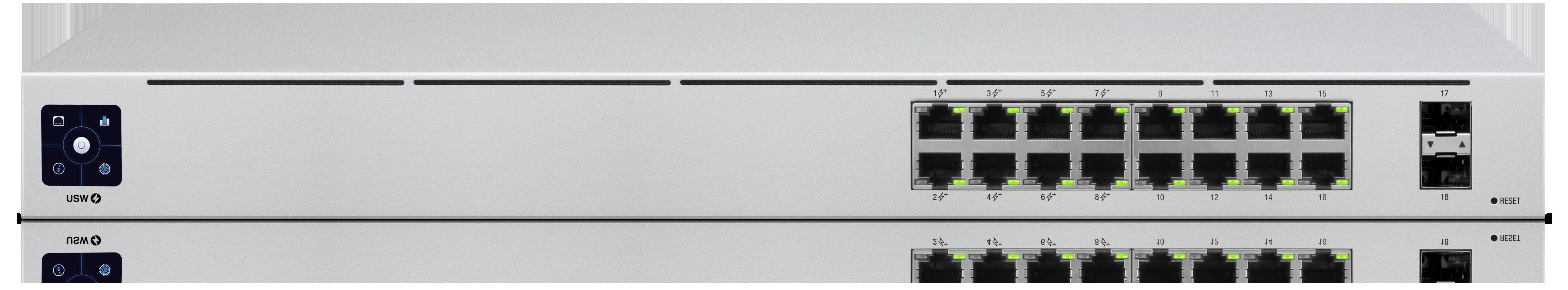 USW-16-POE Unifi Switch POE+ Gigabit Swich 16 Port 42Watt Gen 2