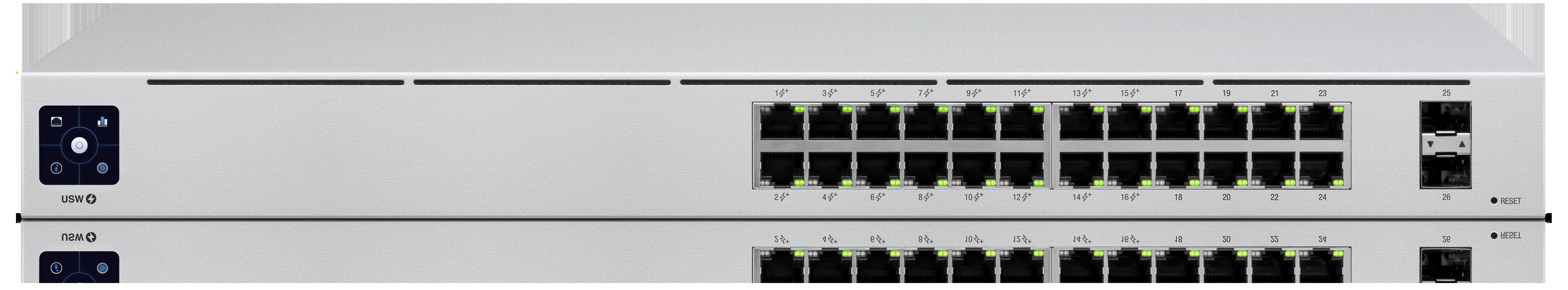 USW-PRO-24-POE Unifi Switch POE+ Gigabit Swich 24 Port 2xSFP+ 400Watt Gen 2