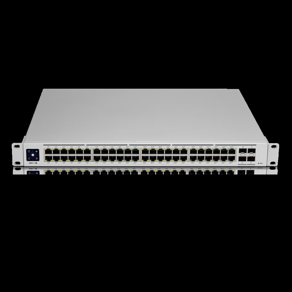 USW-PRO-48-POE Unifi Switch POE+ Gigabit Swich 48 Port 4xSFP+ 600Watt Gen 2