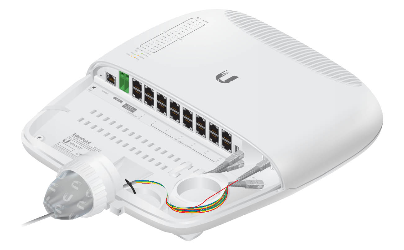 EP-S16 Ubiquiti EdgePoint Poe Switch 16 Port Outdoor