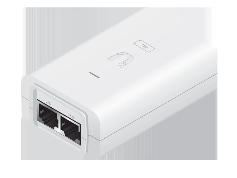 POE-54-80W Ubiquiti POE 54V-80W Adaptor 54 Volt - 80 Watt 1480mA 10/100/1000Mbit