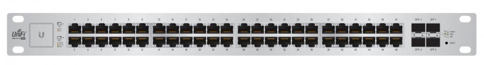 US-48-500W Unifi Switch POE+ Gigabit Swich 48 Port 500Watt 2xSFP+ 2xSFP Yönetilebilir