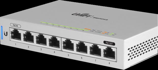 US-8 Unifi Gigabit Switch , US-8