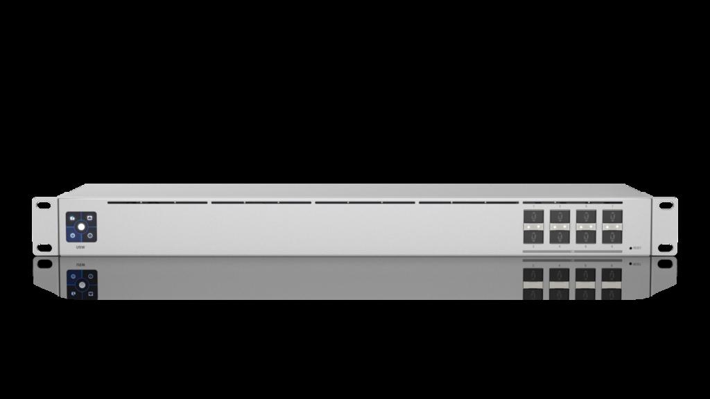 USW-AGGREGATION-EU UBIQUITI USW-AGGREGATION UNIFI SWITCH, 8X SFP+, SWITCHING CAPACITY 160G/S, L2