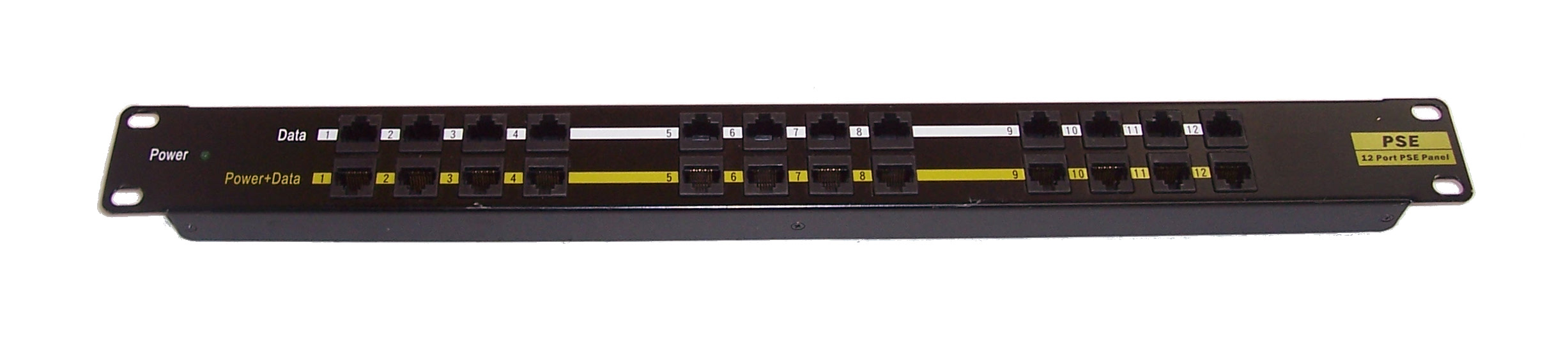 PANEL-12PORT-POE 12 PORT POE PANEL INJECTOR
