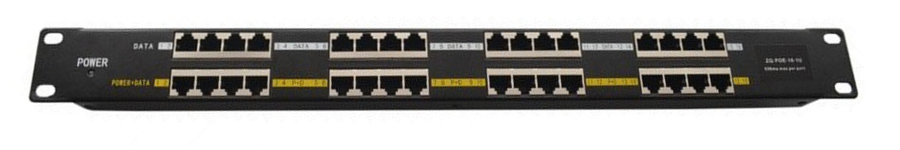 PANEL-16PORT-POE 16 PORT POE PANEL INJECTOR