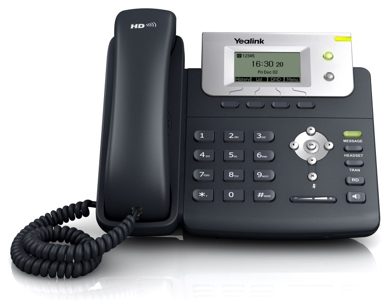 YE-SIP-T21P-E2 YEALINK SIP-T21P-E2 IP PHONE,132X64-PIXEL LCD, 2XPORT (POE), 2 SIP, HEADSET, WALLMOUNT, WITH PSU
